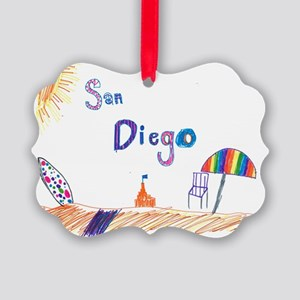 Kaylee San Diego FINAL Picture Ornament