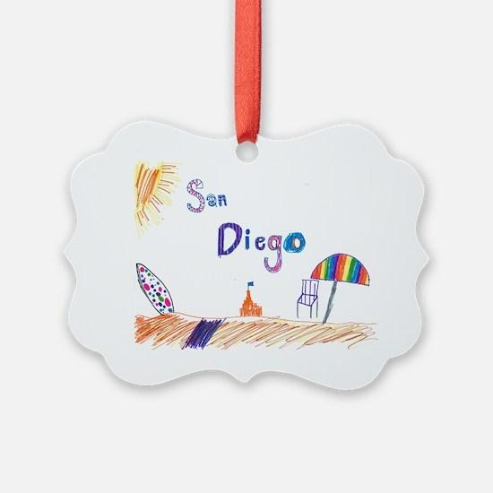 Kaylee San Diego FINAL Ornament