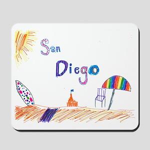 Kaylee San Diego FINAL Mousepad