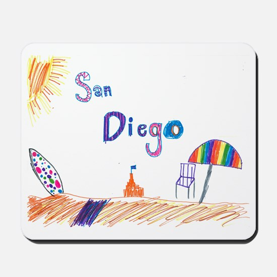 Kaylee San Diego FINAL Mousepad