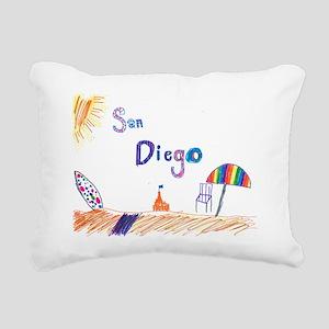 Kaylee San Diego FINAL Rectangular Canvas Pillow