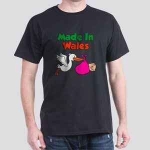 Made In Wales Girl Dark T-Shirt