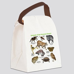 Animals of the Sonoran Desert Canvas Lunch Bag