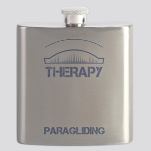 I Don't Need Therapy Just to Go Paragliding Flask