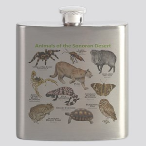 Animals of the Sonoran Desert Flask