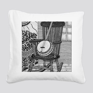 Ready to Rock Square Canvas Pillow