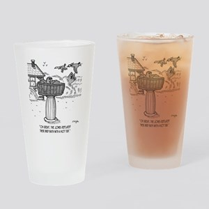2118_bird_cartoon Drinking Glass
