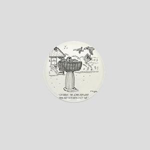 2118_bird_cartoon Mini Button