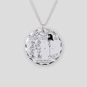 5838_vulture_cartoon Necklace Circle Charm