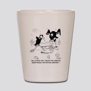 7121_nutrition_cartoon Shot Glass