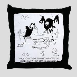 7121_nutrition_cartoon Throw Pillow