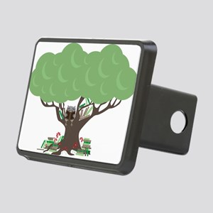 BookishOwl-cafe Rectangular Hitch Cover