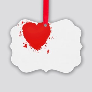Splochy Love Veteran WHT Picture Ornament