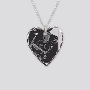 hunger games 6 district 12-00 Necklace Heart Charm