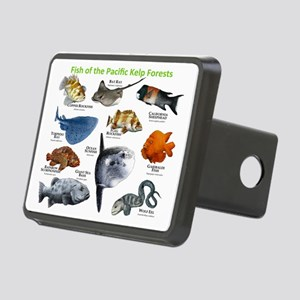 Fish of the Kelp Forests o Rectangular Hitch Cover