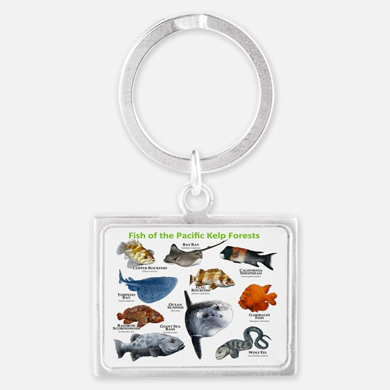 Fish of the Kelp Forests of the Landscape Keychain