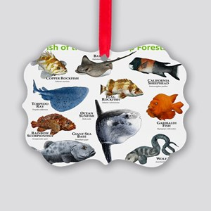 Fish of the Kelp Forests of the P Picture Ornament