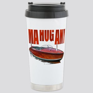 Mahogany-10 Stainless Steel Travel Mug