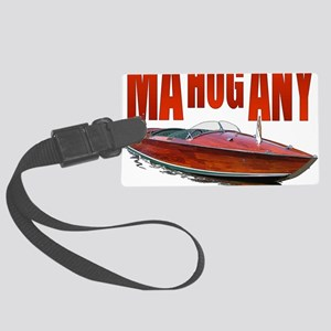 Mahogany-10 Large Luggage Tag