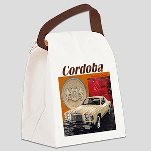 1979 Chrysler Cordoba Design Canvas Lunch Bag