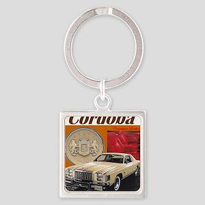 1979 Chrysler Cordoba Design Square Keychain