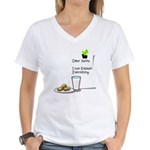 Dear Santa Women's V-Neck T-Shirt