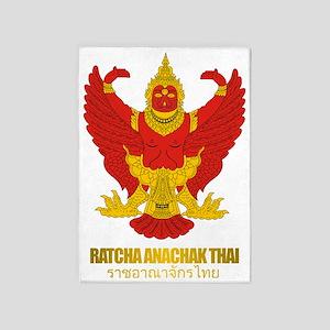Thailand COA (Flag 10) 5'x7'Area Rug