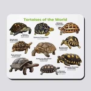 Tortoises of the World Mousepad