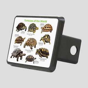 Tortoises of the World Rectangular Hitch Cover