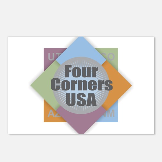 Four Corners Postcards (Package of 8)