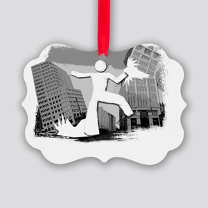 Im Huge In Indiana Picture Ornament