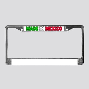 Made In Mexico Baby Hat License Plate Frame