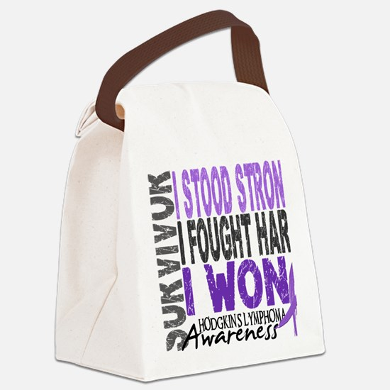 D Survivor 4 Lymphoma Hod Canvas Lunch Bag