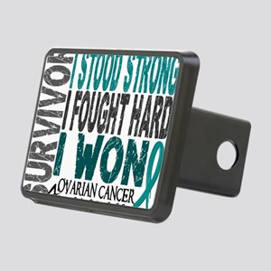 D Survivor 4 Ovarian Cance Rectangular Hitch Cover