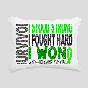 D Survivor 4 Lymphoma No Rectangular Canvas Pillow
