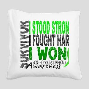 D Survivor 4 Lymphoma Non Square Canvas Pillow