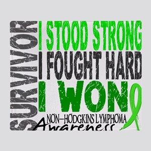 D Survivor 4 Lymphoma Non Throw Blanket