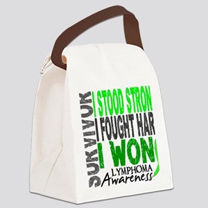 D Survivor 4 Lymphoma Canvas Lunch Bag