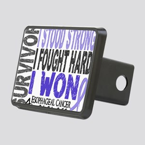 D Survivor 4 Esophageal Ca Rectangular Hitch Cover