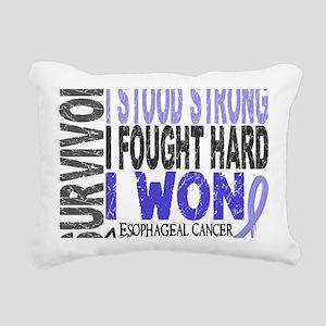 D Survivor 4 Esophageal  Rectangular Canvas Pillow