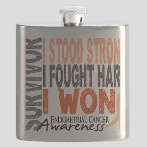 D Survivor 4 Endometrial Cancer Flask