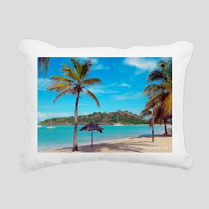 Antigua_DeepBay_DSCN1622 Rectangular Canvas Pillow