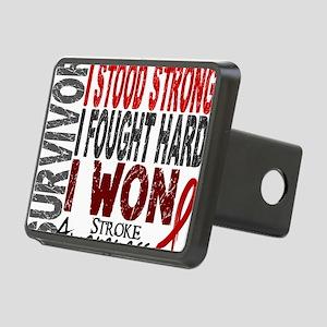 D Survivor 4 Stroke Rectangular Hitch Cover