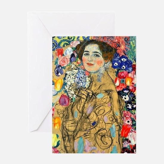 K/N Klimt Ria Greeting Card