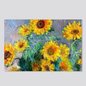 Bag Monet Sunf Postcards (Package of 8)
