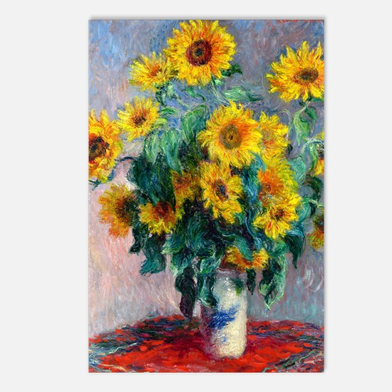 iPad Monet Sunf Postcards (Package of 8)