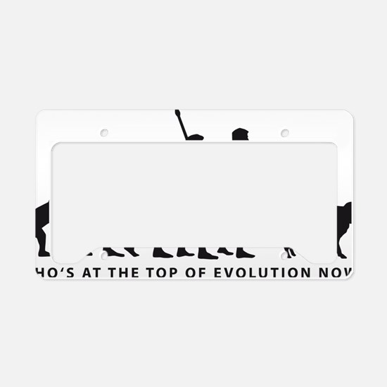 Evolution DOG B License Plate Holder