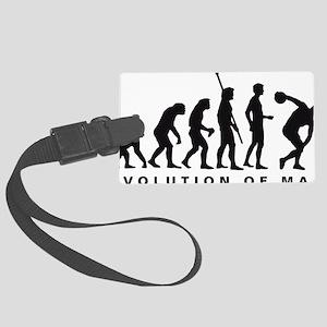 Evolution Diskuswerfen B Large Luggage Tag