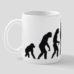 Evolution DOG Mug