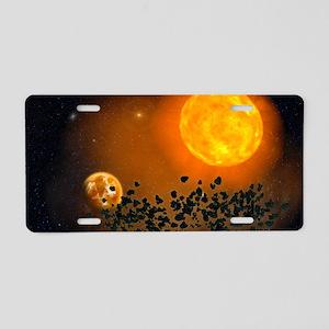 ta_laptop_skin Aluminum License Plate